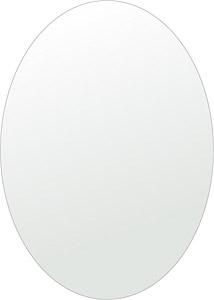 トイレ 鏡 500x700mm 楕円形 シンプルカット トイレ鏡 鏡 トイレ 壁掛け ミラー 壁掛け 日本製 5mm厚 取付金具と説明書 壁掛け鏡 壁に直付け ウオールミラー 姿見 鏡 全身 おしゃれ 軽量 楕円 丸 長丸 丸い オーバル