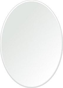 飛散防止加工 鏡 ミラー 安心 安全 クリスタルミラー シリーズ:cdx-oval500x700-9mm-HS(オーバル)(クリアーミラー クリスタルカットタイプ)日本製 アイビーオリジナル洗面 浴室 風呂 トイレ 水廻り 壁掛け 姿見 鏡