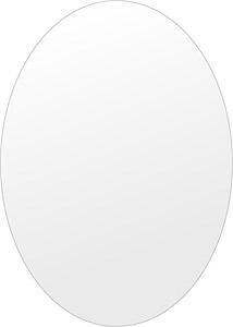 洗面鏡 浴室鏡 トイレ鏡 化粧鏡 日本製 高透過 超透明鏡 楕円形 鏡 500mm×700mm スーパークリアーミラー シンプルタイプ 国産 フレームレスミラー 風呂 鏡 壁掛け鏡 壁掛けミラー ウオールミラー 姿見 姿見鏡 ミラー