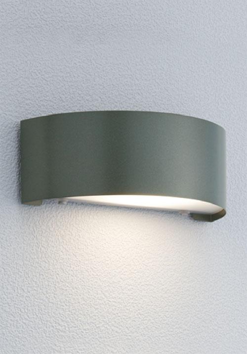 門柱灯 防雨型 照明 LED 5.6W 乳白樹脂 表札灯 門柱ライト エントランスライト エントランス照明 屋外 屋外ライト エクステリア 照明 室外 エクステリアライト おしゃれ 北欧 ステンレス アイビー グレー