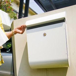 郵便受け 郵便ポスト(壁掛けポスト 壁付けポスト スタンドポスト):8S2S5