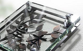 大特価 ひょうさつ 洗面 戸建て ミラー 表札 戸建 インテリア モダン:fTc-fSu:鏡 サインプレート ネームプレート オーダー サインスタンド サインポール IVY サイン マンション-エクステリア・ガーデンファニチャー
