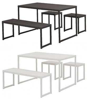 ガーデン テーブル&チェアーのセット:kTfa-11t7-8pluSs