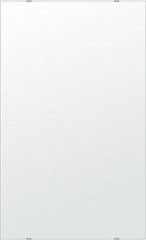 飛散防止加工 鏡 ミラー 安心 安全 クリスタルミラーシリーズ(一般空間用):i-cm-h-s-610mmx1000mm-HS(四角形)(クリアーミラー シンプルタイプ)日本製 アイビーオリジナル 壁掛け鏡 ウォールミラー 姿見 鏡 専用取付金具付き