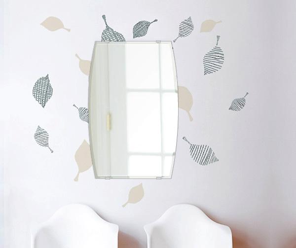 鏡 壁掛け 鏡 ミラー 日本製 高透過 超透明鏡 ドラム 400mm×610mm スーパークリアーミラー クリスタルカット 国産 フレームレスミラー 壁掛け鏡 壁掛けミラー ウォールミラー 姿見 姿見鏡 インテリアミラー (リビング、玄関、廊下、寝室など一般空間用)