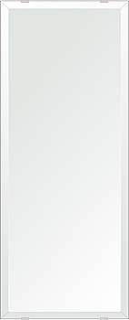 飛散防止加工 鏡 ミラー 安心 安全 クリスタルミラー シリーズ:b-cm-h-4m18-284mmx700mm-HS(四角形)(クリアーミラー デラックスカットタイプ)日本製 アイビーオリジナル洗面 浴室 風呂 トイレ 水廻り 壁掛け 姿見 鏡 専用取付金具付き 縦掛けも横掛けも可能