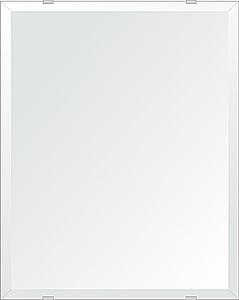 飛散防止加工 鏡 ミラー 安心 安全 クリスタルミラー シリーズ:b-cm-h-4m18-400mmx500mm-HS(四角形)(クリアーミラー デラックスカットタイプ)日本製 アイビーオリジナル洗面 浴室 風呂 トイレ 水廻り 壁掛け 姿見 鏡 専用取付金具付き 縦掛けも横掛けも可能
