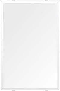 洗面鏡 浴室鏡 トイレ鏡 化粧鏡 日本製 高透過 超透明鏡 四角形 鏡 406mmx610mm スーパークリアーミラー デラックスカット 国産 フレームレスミラー 風呂 鏡 壁掛け鏡 壁掛けミラー ウオールミラー 姿見 姿見鏡 ミラー