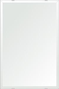 飛散防止加工 鏡 ミラー 安心 安全 クリスタルミラー シリーズ:b-cm-h-4m18-406mmx610mm-HS(四角形)(クリアーミラー デラックスカットタイプ)日本製 アイビーオリジナル洗面 浴室 風呂 トイレ 水廻り 壁掛け 姿見 鏡 専用取付金具付き 縦掛けも横掛けも可能
