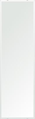 クリスタル ミラー 洗面鏡 浴室鏡 400x1450mm 長方形 デラックスカット 洗面 鏡 浴室 壁掛け ミラー 日本製 5mm厚 取付金具と説明書 壁掛け鏡 ウオールミラー 防湿鏡 姿見 全身 おしゃれ 軽量 角型 四角 四角形 洗面台 防湿 お風呂