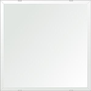 洗面鏡 浴室鏡 トイレ鏡 化粧鏡 日本製 四角形 450mmx450mm クリアーミラー デラックスカット 国産 フレームレスミラー 風呂 鏡 壁掛け鏡 壁掛けミラー ウオールミラー 姿見 姿見鏡 ミラー