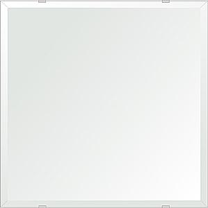 飛散防止加工 鏡 ミラー 安心 安全 クリスタルミラー シリーズ:b-cm-h-4m18-500mmx500mm-HS(四角形)(クリアーミラー デラックスカットタイプ)日本製 アイビーオリジナル洗面 浴室 風呂 トイレ 水廻り 壁掛け 姿見 鏡 専用取付金具付き 縦掛けも横掛けも可能