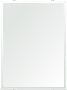 洗面鏡 浴室鏡 トイレ鏡 化粧鏡 日本製 四角形 457mmx610mm クリアーミラー デラックスカット 国産 フレームレスミラー 風呂 鏡 壁掛け鏡 壁掛けミラー ウオールミラー 姿見 姿見鏡 ミラー