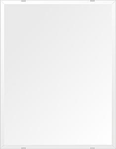 洗面鏡 浴室鏡 トイレ鏡 化粧鏡 日本製 高透過 超透明鏡 四角形 鏡 500mmx640mm スーパークリアーミラー デラックスカット 国産 フレームレスミラー 風呂 鏡 壁掛け鏡 壁掛けミラー ウオールミラー 姿見 姿見鏡 ミラー