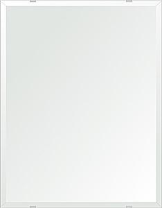 クリスタル ミラー 500x600mm 長方形 デラックスカット 鏡 壁掛け ミラー 壁掛け 日本製 5mm厚 玄関 リビング 寝室 トイレ 取付金具と説明書 壁掛け鏡 壁に直付け ウオールミラー 姿見 全身 おしゃれ 軽量 角型 四角 四角形