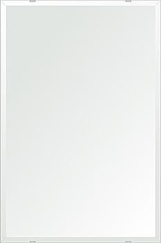 クリスタル ミラー 洗面鏡 浴室鏡 500x750mm 長方形 デラックスカット 洗面 鏡 浴室 壁掛け ミラー 日本製 5mm厚 取付金具と説明書 壁掛け鏡 ウオールミラー 防湿鏡 姿見 全身 おしゃれ 軽量 角型 四角 四角形 洗面台 防湿 お風呂