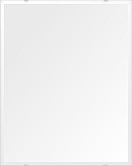 洗面鏡 浴室鏡 トイレ鏡 化粧鏡 日本製 高透過 超透明鏡 四角形 鏡 608mmx760mm スーパークリアーミラー デラックスカット 国産 フレームレスミラー 風呂 鏡 壁掛け鏡 壁掛けミラー ウオールミラー 姿見 姿見鏡 ミラー