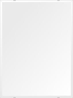 洗面鏡 浴室鏡 トイレ鏡 化粧鏡 日本製 高透過 超透明鏡 四角形 鏡 608mmx811mm スーパークリアーミラー デラックスカット 国産 フレームレスミラー 風呂 鏡 壁掛け鏡 壁掛けミラー ウオールミラー 姿見 姿見鏡 ミラー