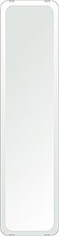 飛散防止加工 鏡 ミラー 安心 安全 クリスタルミラーシリーズ(一般空間用):i-cm-h-4m18-30r-200mmx800mm-HS(角丸四角形)(クリアーミラー 30Rデラックスカットタイプ)日本製 アイビーオリジナル 壁掛け鏡 ウォールミラー 姿見 鏡