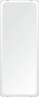 クリスタル ミラー 284x700mm 角丸四角形 デラックスカット 鏡 壁掛け ミラー 壁掛け 日本製 5mm厚 玄関 リビング 寝室 トイレ 取付金具と説明書 壁掛け鏡 壁に直付け ウオールミラー 姿見 全身 おしゃれ 軽量 角型 四角 四角形