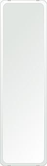 鏡 壁掛け 鏡 ミラー 日本製 角丸四角形 鏡 284mmx1000mm クリアーミラー 30Rデラックスカット 国産 フレームレスミラー 壁掛け鏡 壁掛けミラー ウォールミラー 姿見 姿見鏡 インテリアミラー (リビング、玄関、廊下、寝室など一般空間用)
