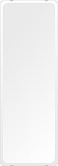 鏡 壁掛け 鏡 ミラー 日本製 高透過 超透明鏡 角丸四角形 鏡 350mmx1000mm スーパークリアーミラー 30Rデラックスカット 国産 フレームレスミラー 壁掛け鏡 壁掛けミラー ウォールミラー 姿見 姿見鏡 インテリアミラー (リビング、玄関、廊下、寝室など一般空間用)
