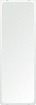 クリスタル ミラー 洗面鏡 浴室鏡 350x1000mm 角丸四角形 デラックスカット 洗面 鏡 浴室 壁掛け ミラー 日本製 5mm厚 取付金具と説明書 壁掛け鏡 ウオールミラー 防湿鏡 姿見 全身 おしゃれ 軽量 角型 四角 四角形 洗面台 防湿 お風呂