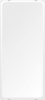 洗面鏡 浴室鏡 トイレ鏡 化粧鏡 日本製 高透過 超透明鏡 角丸四角形 鏡 360mmx800mm スーパークリアーミラー 30Rデラックスカット 国産 フレームレスミラー 風呂 鏡 壁掛け鏡 壁掛けミラー ウオールミラー 姿見 姿見鏡 ミラー