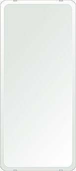 鏡 壁掛け 鏡 ミラー 日本製 角丸四角形 鏡 360mmx800mm クリアーミラー 30Rデラックスカット 国産 フレームレスミラー 壁掛け鏡 壁掛けミラー ウォールミラー 姿見 姿見鏡 インテリアミラー (リビング、玄関、廊下、寝室など一般空間用)
