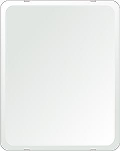 鏡 壁掛け 鏡 ミラー 日本製 角丸四角形 鏡 400mmx500mm クリアーミラー 30Rデラックスカット 国産 フレームレスミラー 壁掛け鏡 壁掛けミラー ウォールミラー 姿見 姿見鏡 インテリアミラー (リビング、玄関、廊下、寝室など一般空間用)