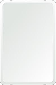 飛散防止加工 鏡 ミラー 安心 安全 クリスタルミラー シリーズ:b-cm-h-4m18-30r-406mmx610mm-HS(角丸四角形)(クリアーミラー 30R デラックスカットタイプ)日本製 アイビーオリジナル洗面 浴室 風呂 トイレ 水廻り 壁掛け 姿見 鏡 専用取付金具付き
