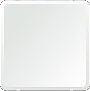 洗面鏡 浴室鏡 トイレ鏡 化粧鏡 日本製 角丸四角形 450mmx450mm クリアーミラー 30Rデラックスカット 国産 フレームレスミラー 風呂 鏡 壁掛け鏡 壁掛けミラー ウオールミラー 姿見 姿見鏡