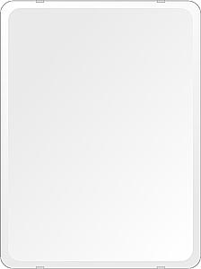 洗面鏡 浴室鏡 トイレ鏡 化粧鏡 日本製 高透過 超透明鏡 角丸四角形 鏡 455mmx608mm スーパークリアーミラー 30Rデラックスカット 国産 フレームレスミラー 風呂 鏡 壁掛け鏡 壁掛けミラー ウオールミラー 姿見 姿見鏡 ミラー