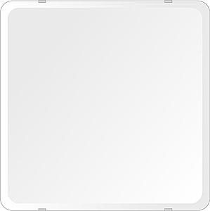 洗面鏡 浴室鏡 トイレ鏡 化粧鏡 日本製 高透過 超透明鏡 角丸四角形 鏡 500mmx500mm スーパークリアーミラー 30Rデラックスカット 国産 フレームレスミラー 風呂 鏡 壁掛け鏡 壁掛けミラー ウオールミラー 姿見 姿見鏡 ミラー
