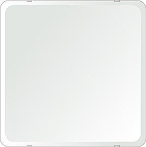 洗面鏡 浴室鏡 トイレ鏡 化粧鏡 日本製 角丸四角形 500mmx500mm クリアーミラー 30Rデラックスカット 国産 フレームレスミラー 風呂 鏡 壁掛け鏡 壁掛けミラー ウオールミラー 姿見 姿見鏡