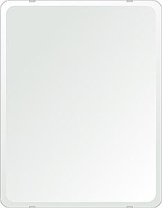 クリスタル ミラー 500x640mm 角丸四角形 デラックスカット 鏡 壁掛け ミラー 壁掛け 日本製 5mm厚 玄関 リビング 寝室 トイレ 取付金具と説明書 壁掛け鏡 壁に直付け ウオールミラー 姿見 全身 おしゃれ 軽量 角型 四角 四角形