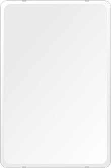 飛散防止加工 鏡 ミラー 高透過 超透明鏡 安心 安全 クリスタルミラー シリーズ(一般空間用):i-scm-h-4m18-30r-506mmx760mm-HS(角丸四角形)(スーパークリアーミラー 30Rデラックスカットタイプ)アイビーオリジナル 壁掛け鏡 ミラー