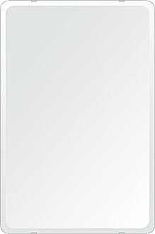 洗面鏡 浴室鏡 トイレ鏡 化粧鏡 日本製 角丸四角形 506mmx760mm クリアーミラー 30Rデラックスカット 国産 フレームレスミラー 風呂 鏡 壁掛け鏡 壁掛けミラー ウオールミラー 姿見 姿見鏡