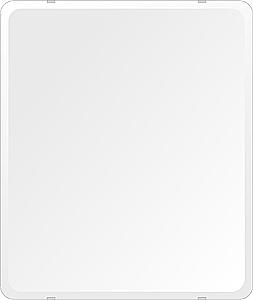鏡 壁掛け 鏡 ミラー 日本製 高透過 超透明鏡 角丸四角形 鏡 549mmx649mm スーパークリアーミラー 30Rデラックスカット 国産 フレームレスミラー 壁掛け鏡 壁掛けミラー ウォールミラー 姿見 姿見鏡 インテリアミラー (リビング、玄関、廊下、寝室など一般空間用)