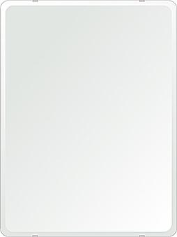 クリスタル ミラー 608x811mm 角丸四角形 デラックスカット 鏡 壁掛け ミラー 壁掛け 日本製 5mm厚 玄関 リビング 寝室 トイレ 取付金具と説明書 壁掛け鏡 壁に直付け ウオールミラー 姿見 全身 おしゃれ 軽量 角型 四角 四角形