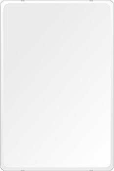 洗面鏡 浴室鏡 トイレ鏡 化粧鏡 日本製 高透過 超透明鏡 角丸四角形 鏡 608mmx912mm スーパークリアーミラー 30Rデラックスカット 国産 フレームレスミラー 風呂 鏡 壁掛け鏡 壁掛けミラー ウオールミラー 姿見 姿見鏡 ミラー