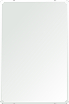 洗面鏡 浴室鏡 トイレ鏡 化粧鏡 日本製 角丸四角形 608mmx912mm クリアーミラー 30Rデラックスカット 国産 フレームレスミラー 風呂 鏡 壁掛け鏡 壁掛けミラー ウオールミラー 姿見 姿見鏡