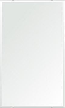 洗面鏡 浴室鏡 トイレ鏡 化粧鏡 日本製 四角形 610mmx1000mm クリアーミラー デラックスカット 国産 フレームレスミラー 風呂 鏡 壁掛け鏡 壁掛けミラー ウオールミラー 姿見 姿見鏡 ミラー