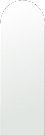 洗面鏡 浴室鏡 トイレ鏡 化粧鏡 日本製 アーチ(天丸形) 400mm×1200mm クリアーミラー シンプルタイプ 国産 フレームレスミラー 風呂 鏡 壁掛け鏡 壁掛けミラー ウオールミラー 姿見 姿見鏡 ミラー
