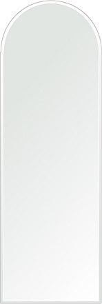 クリスタル ミラー 400x1200mm アーチ形状 クリスタルカット 鏡 壁掛け ミラー 壁掛け 日本製 5mm厚 玄関 リビング 寝室 トイレ 取付金具と説明書 壁掛け鏡 壁に直付け ウオールミラー 姿見 全身 おしゃれ 軽量 天丸形