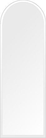 洗面鏡 浴室鏡 トイレ鏡 化粧鏡 日本製 高透過 超透明鏡 アーチ(天丸形) 400mm×1200mm クリアーミラー デラックスカット 国産 フレームレスミラー 風呂 鏡 壁掛け鏡 壁掛けミラー ウオールミラー 姿見 姿見鏡 ミラー
