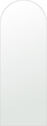 洗面鏡 浴室鏡 トイレ鏡 化粧鏡 日本製 アーチ(天丸形) 450mm×1200mm クリアーミラー シンプルタイプ 国産 フレームレスミラー 風呂 鏡 壁掛け鏡 壁掛けミラー ウオールミラー 姿見 姿見鏡 ミラー