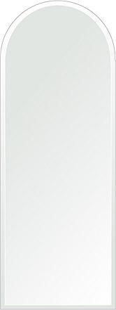 鏡 壁掛け 鏡 ミラー 日本製 アーチ(天丸形) 450mm×1200mm クリアーミラー デラックスカット 国産 フレームレスミラー 壁掛け鏡 壁掛けミラー ウォールミラー 姿見 姿見鏡 インテリアミラー (リビング、玄関、廊下、寝室など一般空間用)