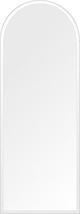 洗面鏡 浴室鏡 トイレ鏡 化粧鏡 日本製 高透過 超透明鏡 アーチ(天丸形) 450mm×1200mm クリアーミラー デラックスカット 国産 フレームレスミラー 風呂 鏡 壁掛け鏡 壁掛けミラー ウオールミラー 姿見 姿見鏡 ミラー
