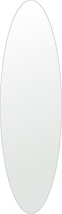 トイレ 鏡 350x1200mm 楕円形 シンプルカット トイレ鏡 鏡 トイレ 壁掛け ミラー 壁掛け 日本製 5mm厚 取付金具と説明書 壁掛け鏡 壁に直付け ウオールミラー 姿見 鏡 全身 おしゃれ 軽量 楕円 丸 長丸 丸い オーバル
